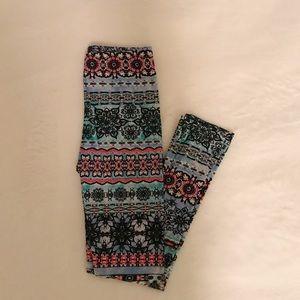 Pants - tribal bright comfortable leggings